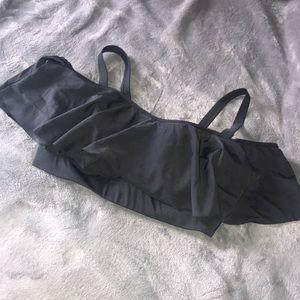 Old Navy Flounce Off Shoulder Bikini Top